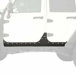 Smittybilt Xrc Body Armor Rocker Panels For Jeep Jk Wrangler Unlimited 07 18