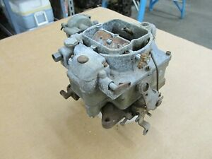 1956 Chevy Corvette Carter Wcfb 0 953 6 1151 Dual Quad Carburetor 2x4 Carb 1957