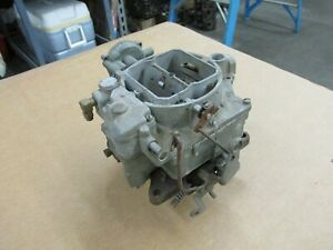 1957 Chevy Corvette Carter Wcfb 0 1510 6 1271 Single Or Dual Quad Carburetor 2x4
