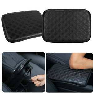 Universal Car Armrest Pad Cover Auto Center Console Box Pu Leather Cushion Pads