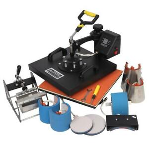 8 In 1 15 X15 Digital Heat Press Machine Sublimation For T shirt Plate 1420w