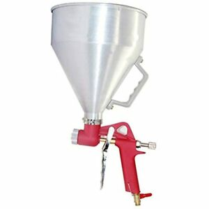 Air Hopper Spray 4 0mm 6 0mm 8 0mm Nozzle Paint Texture Drywall Painting Silver