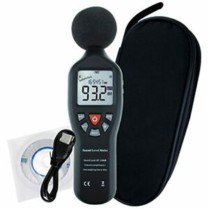 Professional Decibel Meter Digital Sound Level Backlight Display High Accuracy