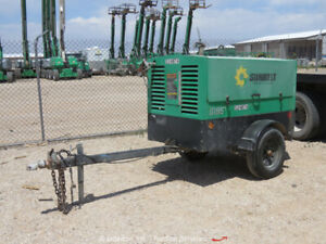 2013 Sullivan Palatek D185p3jd 185 Cfm Towable Air Compressor Deere Bidadoo