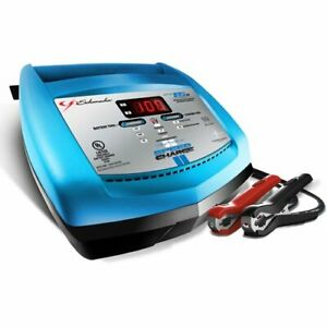 Schumacher Electric 15 Amp 6 12v Battery Charger Speed Charger Xcs15 Ca