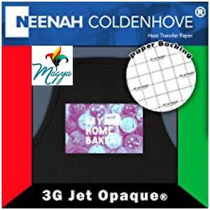 Neenah 3g Jet Opaque Heat Transfer Paper For Dark Colors 8 5x11 50 Sheets