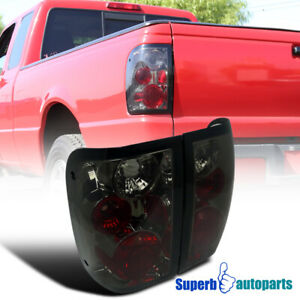 For 2001 2005 Ford Ranger Replacement Tail Lights Brake Lamps Smoke