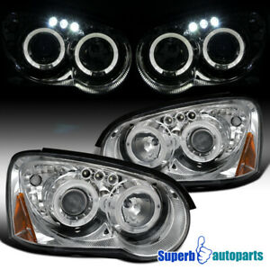 For 2004 2005 Subaru Impreza Wrx Led Halo Projector Headlights