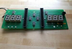 Hunter Engineering Balancing Machine Display Board Part 45 1019 1