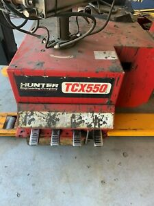 Hunter Tcx500 Rim Clamp Tire Wheel Changer Low Profile Assist Arm Machinee