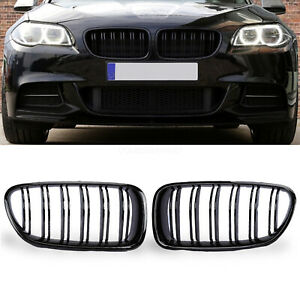 Painted Glossy Durable Front Grille Grill Kidney For Bmw 5 Series F10 F11 M5