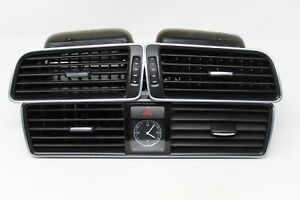 2012 2015 Volkswagen Vw Passat Side Center Dash Air Vent With Clock Oem Set