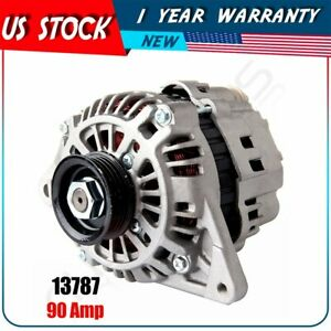 New Alternator 2 0l Mitsubishi Lancer 2002 2004 1 8l Mirage 1998 2002 12v