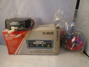 Vintage Sears Battery Charging System Monitor Diehard Incredicell 9620