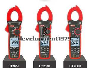 Uni t Ut206b ut207b ut208b Intelligent Digital Display Clamp Ammeter