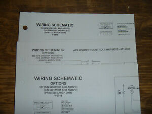 Bobcat 553 Skid Steer Electrical Wiring Diagram Schematic Manual