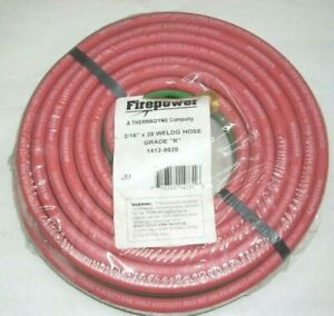 Victor Fp Acetylene Twin Welding Hose 3 16 X 25 Grade R Goodyear Continental Usa