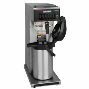 Bunn Cw15 aps Pourover Coffee Brewer For Airpots Gourmet Funnel 120v