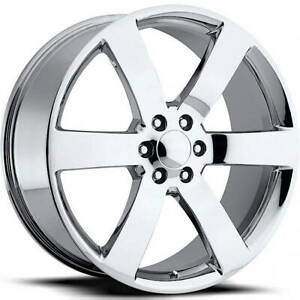 22x9 Chrome Wheel Factory Reproductions Fr32 Trailblazer Ss Replica Wheels 6x