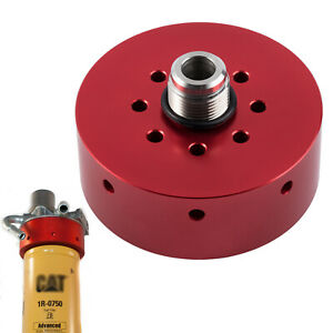 Fuel Filter Adapter For Chevy gmc 2001 2016 Duramax Diesel Cat 1r 0750 red