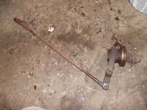 Farmall A Tractor Ih Transmission Clutch Throw Out Bearing W Linkage Rod