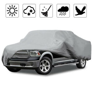 Waterproof Pickup Truck Cover All Weather Dust Uv Protector For Gmc Sierra 1500