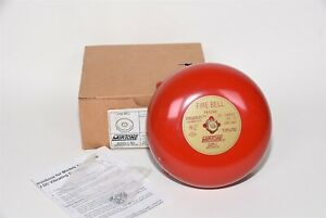 Mirtone 74328u Red Fire Bell For Fire Alarm