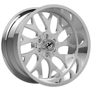 4 xfx Forged Xfx 301 17x10 6x135 6x5 5 12mm Chrome Wheels Rims 17 Inch