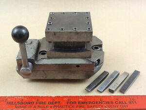 Original South Bend 9 Lathe Four Position Square Turret Tool Block Stc 105n