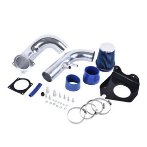 3 Blue Cold Air Intake Kit Dry Filter For Ford 1996 2004 Mustang Gt 4 6l V8
