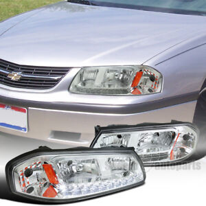 For 2000 2005 Chevy Impala Replacement Headlights Head Lamps