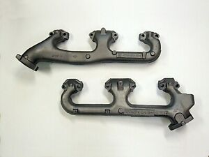 5 7 350 Chevrolet Gmc Truck 1996 2000 New Exhaust Manifold Set Oem