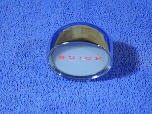 1960 Buick Accessory Chrome Clock Delete Nos