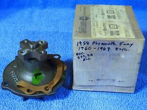 1958 1969 Chrysler Dodge Plymouth Mopar Water Pump Nos