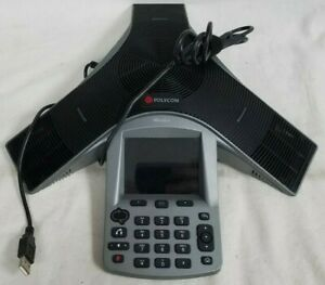 Polycom Cx3000 Conference Phone Ip Voip 2201 15810 001 Usb Cord Included
