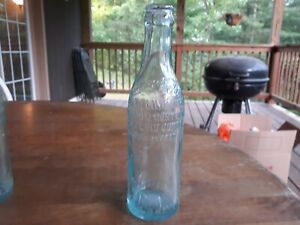 Early 1900s Straight Sided Coca Cola Charles Town WV R J Shine