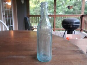 Early 1900s Straight Sided Coca Cola Winchester VA R J Shine Bottle