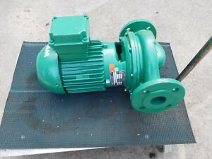 Wilo Ipn40 140 1 5 2 k4s Pump 1 5 Kw Temperature 120 284 F 16 13 Bar