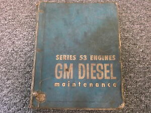 Detroit Diesel 2 53 3 53 4 53 6v 53 Series 53 Shop Service Repair Manual