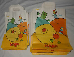 Haba Retail Sales Merchandise Paper Holiday Birthday Gift Bags 50 Lot M L