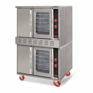 American Range Msde 2gl Electric Doublestacked Convection Ovens 208 Volt New
