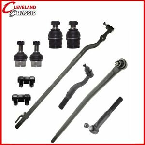 10 Pc Ford F 450 F 550 Sd 99 05 Tie Rod Ends Link Ball Joints Pickup F450 F550