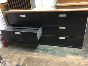 Hon Company 683lp 600 Series Three drawer Lateral File 42w X19 1 4d