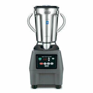 Waring Cb15t Countertop Food Blender W Metal Container
