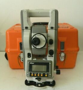 Nikon Top Gun C 100 Total Station Land Surveying Equipment W Case