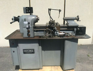 Hardinge Tfb H Super Precision Tool Room Lathe 11 X 18 Serial No Hlv h 1622
