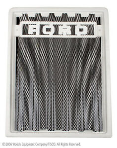 D5nn8200a Grill Screen For Ford 2600 3600 4100 4600 5600 6600 7600 1975 81