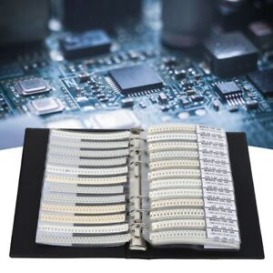 1206 80 Value Capacitors Kit Electronic Component Sample Book