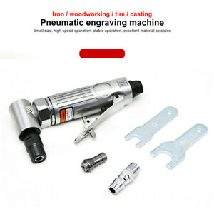 Air Pneumatic Right Angle Die Grinder Polisher Cleaning 1 4 Cut Off Cutting Us