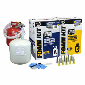 Touch n Seal 600bf Spray Foam Insulation Kit Closed Cell Standard Fr